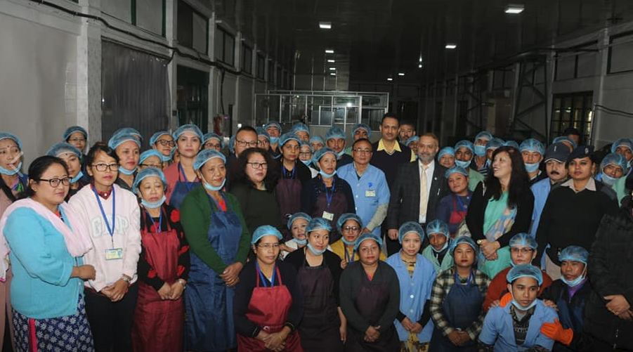 Union Minister of State for Skill Development and Entrepreneurship on a two day visit to Sikkim