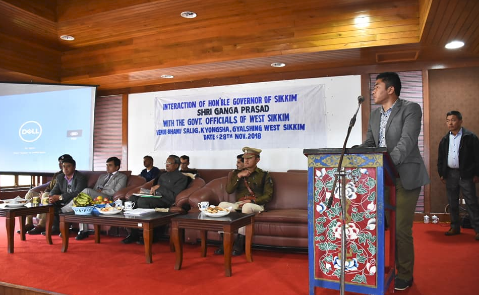Hon'ble Governor concludes his West Sikkim Visit