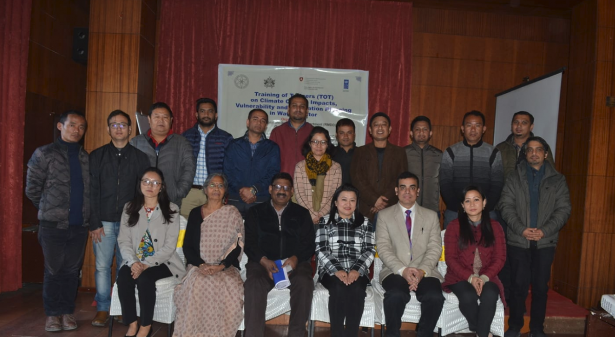 Training of Trainer (TOT) Programme for Climate Change Impacts, Vulnerability and Adaptation Planning in Water Sector in Himalayan region