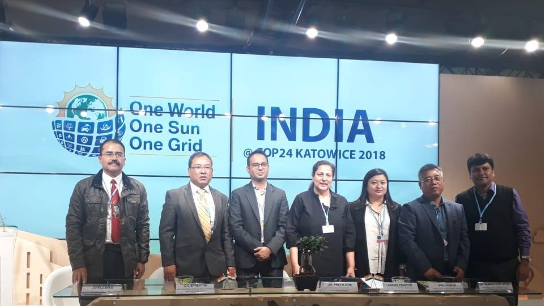 SIKKIM REPRESENTED IN COP 24