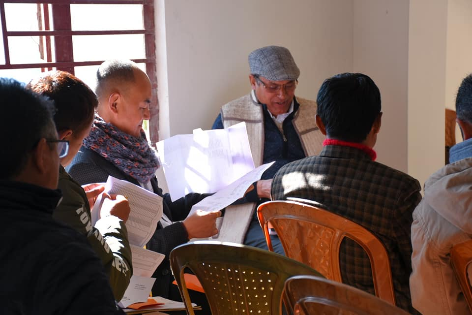 One Day EVM and VVPAT Training Program at Kyongsa, West Sikkim completed successfully