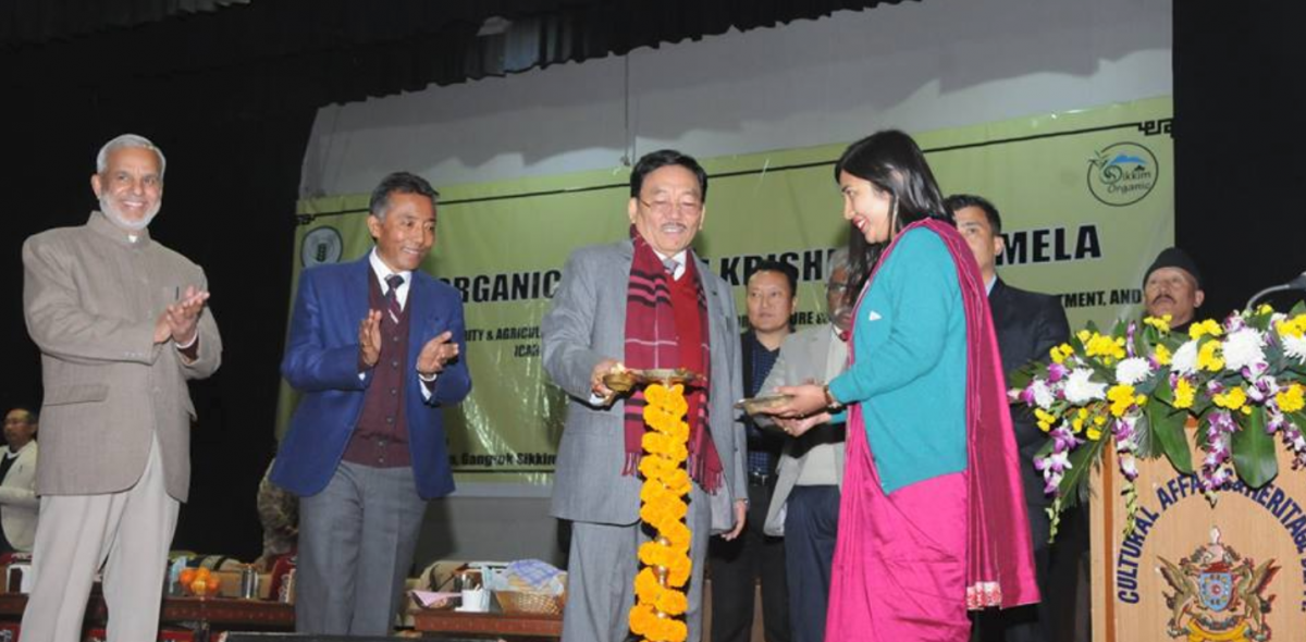 The third edition of 'Sikkim Organic Day'