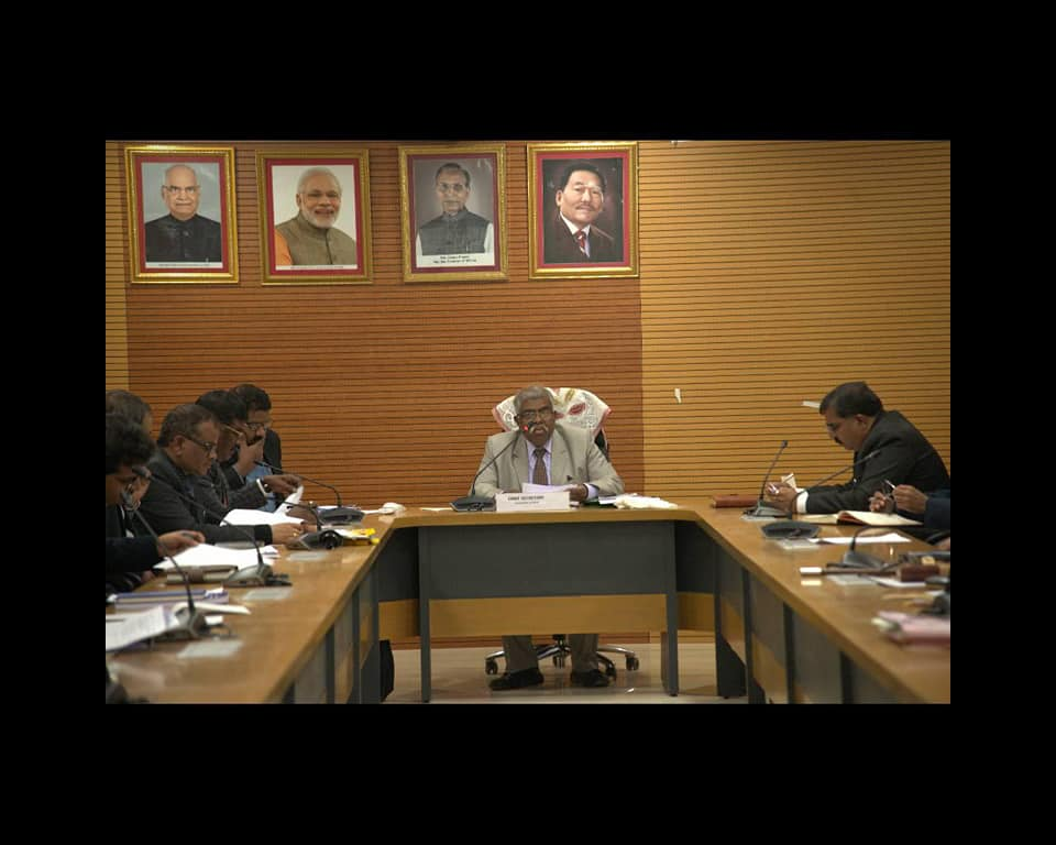 Prep meets commence for Hon'ble Vice President of India's visit to the State