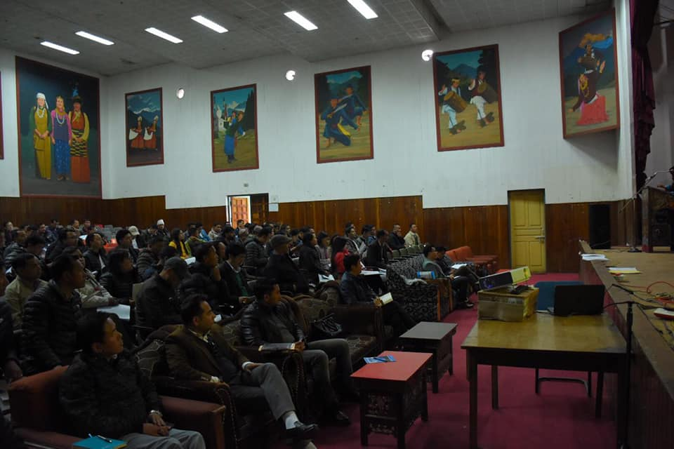 West District Election Department successfully completeS Booth Level Officers meet at Gyalshing