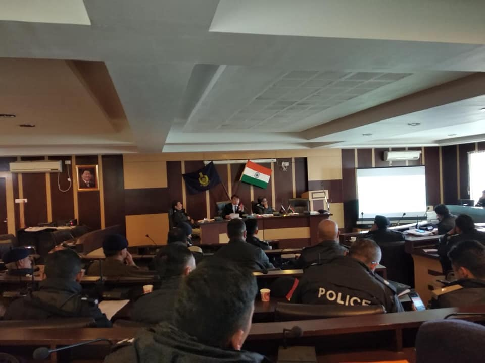 Office of the CEO conducts workshop to sensitize Police Officers for the upcoming general elections