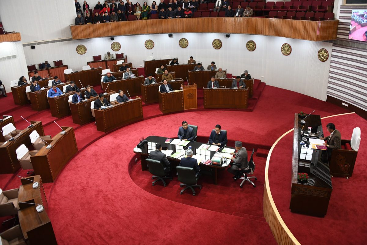 Commencement of the Seventh Session (Part-VI) of the Ninth Assembly of Sikkim Legislative Assembly