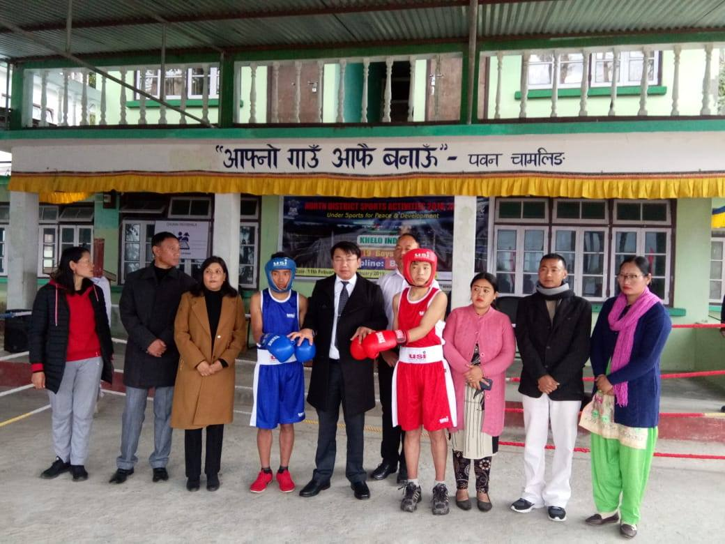 District Level Sports Competition concludes in Mangan
