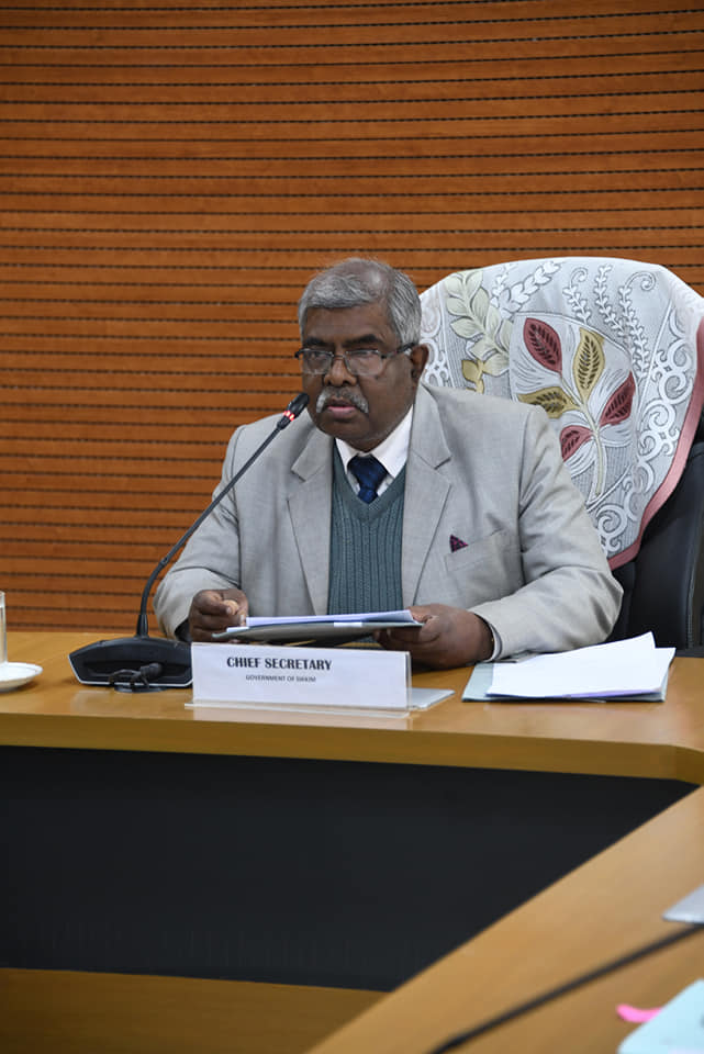 CS reviews progress of preps for VP's visit to the State, expresses satisfaction over preparedness