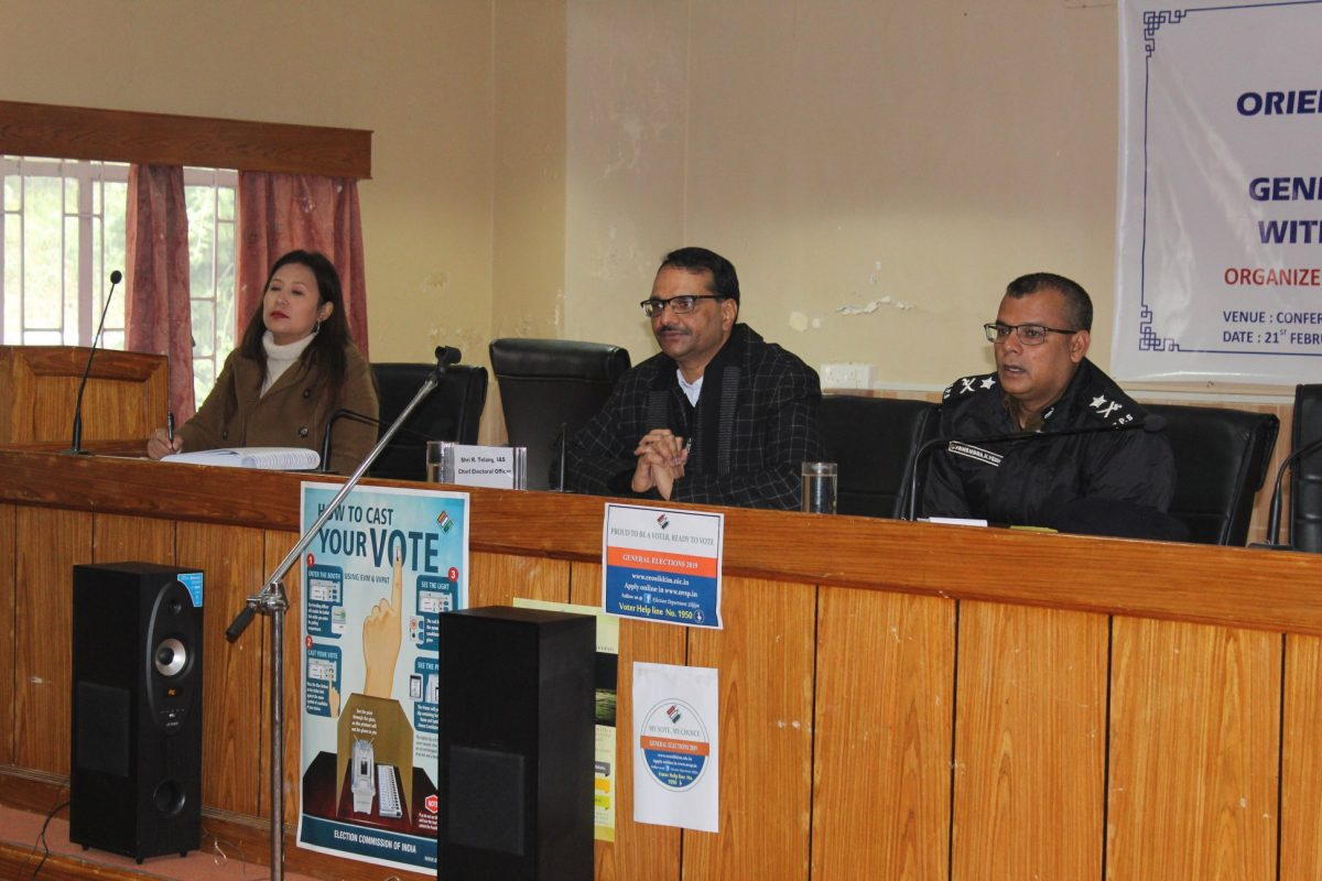 Office of the CEO conducts workshop for political parties of the State