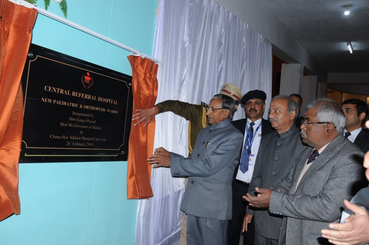 Hon'ble Governor Shri Ganga Prasad inaugurates new Paediatric & Orthopaedic wards of CRH