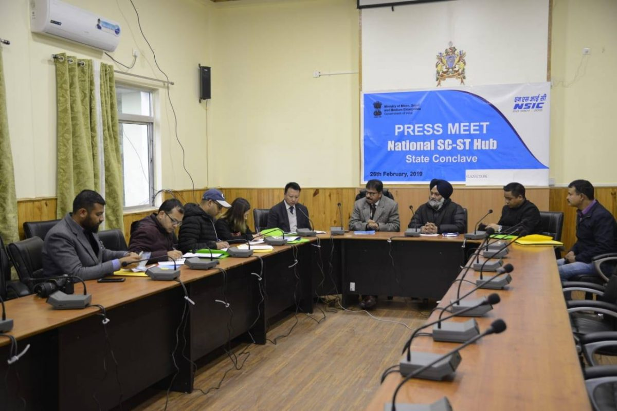 Sikkim to host the National SC-ST Hub (NSSH) Conclave at Chintan Bhawan