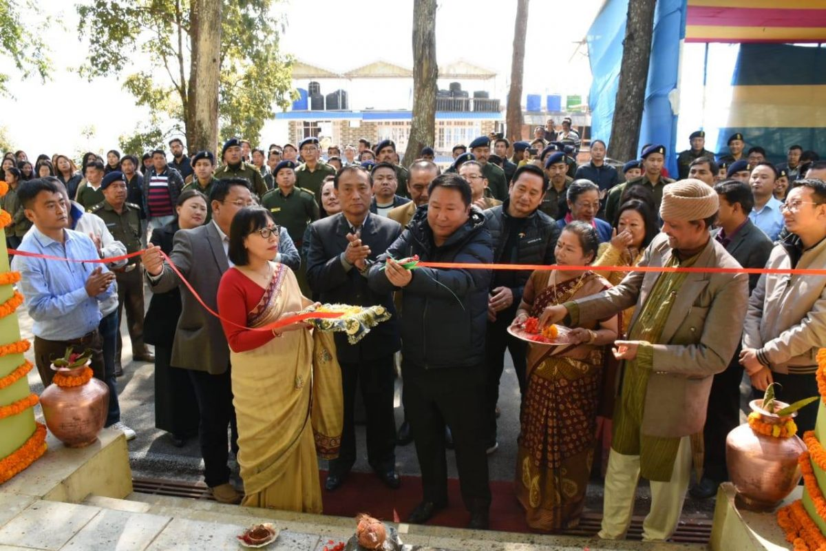 Inauguration of the newly built District Forest Complex at Namchi