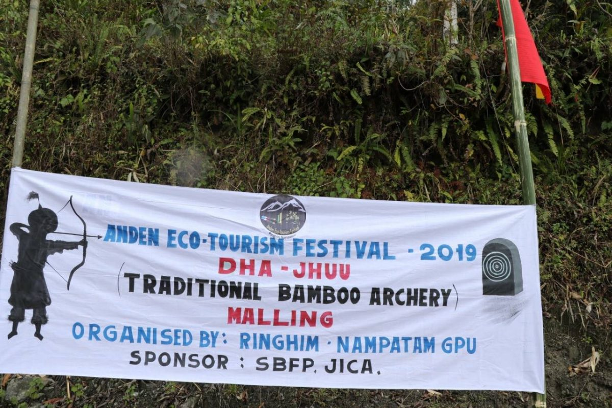 Anden Eco-tourism fest commences at Malling in Mangan