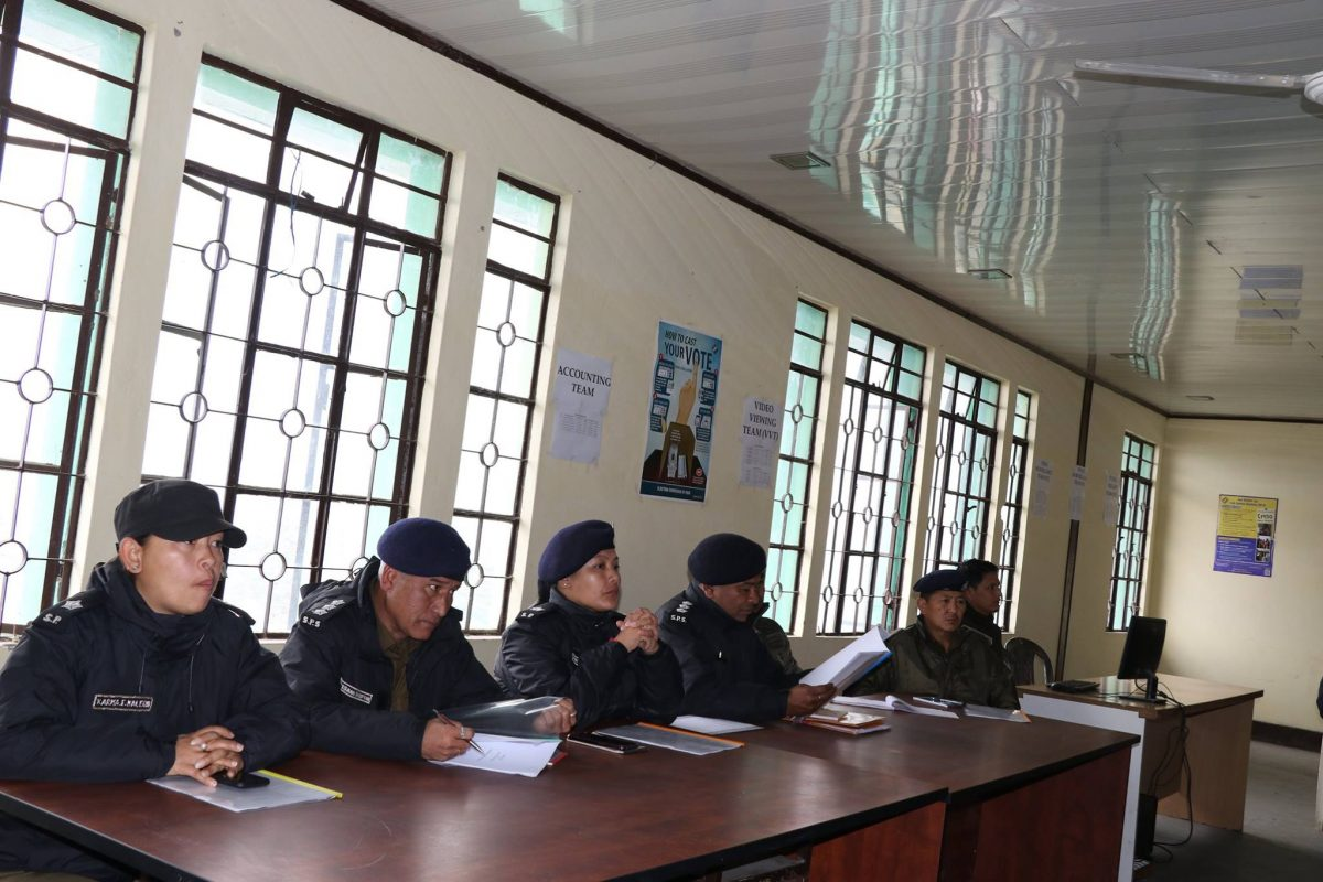 Briefing to the sector officers and nodal officers of different district election committee about their responsibilities and duties as assigned for them for smooth conduct of election