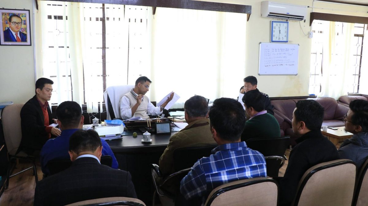 Coordination meet held with representatives of political parties of North district