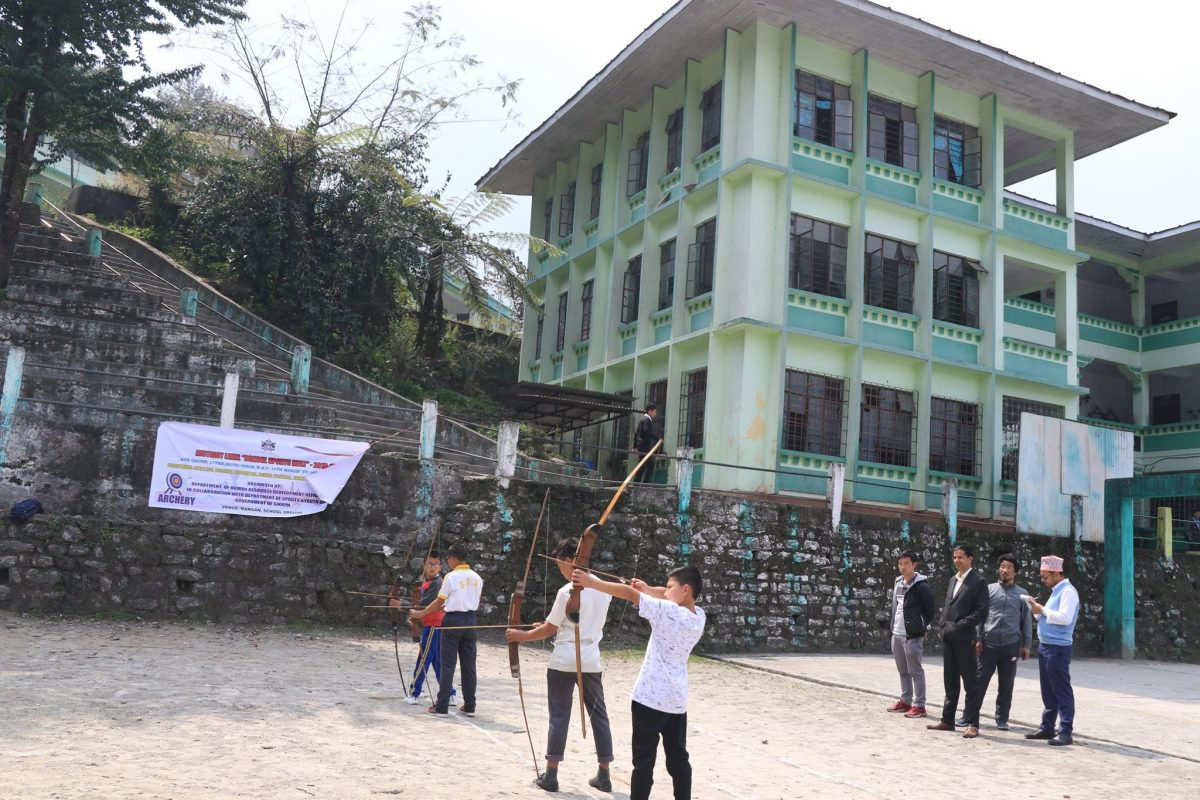 "Three days long District level ""School Sports Meet"" 2018-19 was started from 14th of March in North district"