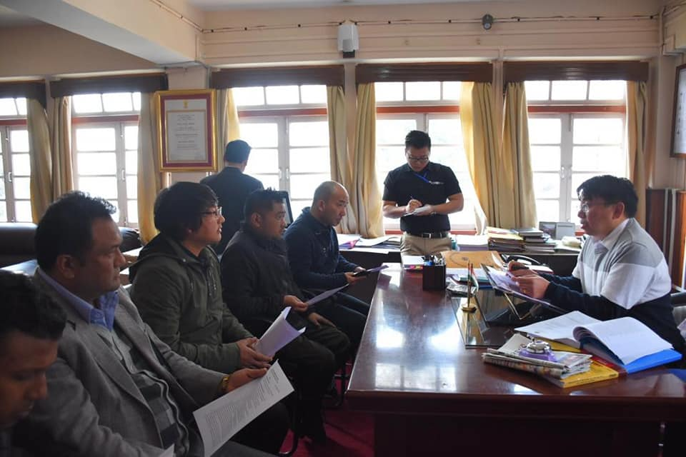 DEO West Meets with the Printers and Publishers of West Sikkim