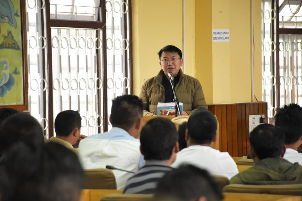 Training of contesting candidates on Expenditure and MCC conducted in Gyalshing