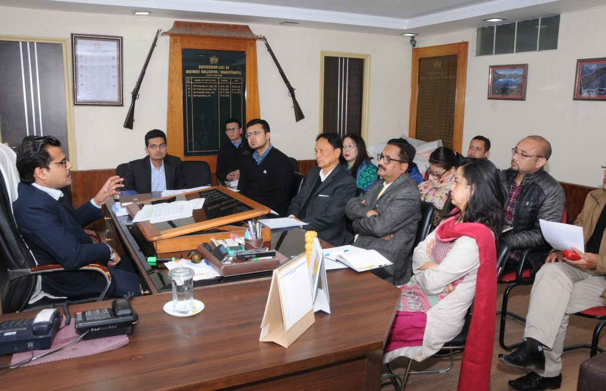 DC East/DEO chairs co-ordination meet with expenditure monitoring related organisations