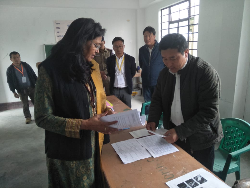 GO, North visits seven Polling Stations under Sector 3: Kabi to Ramthang
