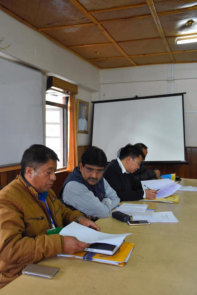 General Observer meets with the Sector Magistrates and Nodal Officers of West Sikkim