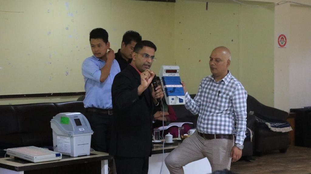 Third round training of Presiding Officers conducted in North district