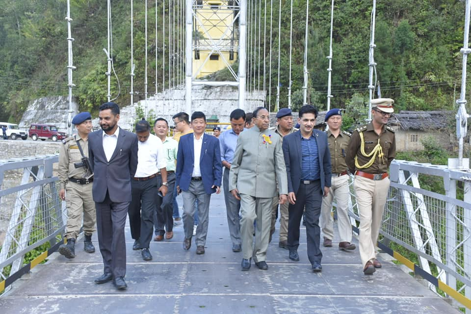 Governor visits Dentam on the first day of his West Sikkim tour