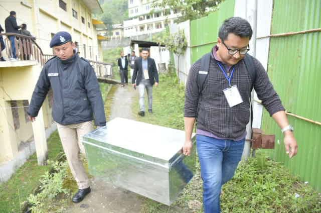 West Sikkim's postal ballot segregated, sent to respective districts