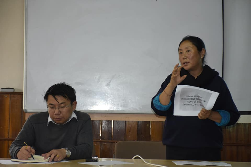 First review meet for 2019 Aspirational District in West Sikkim