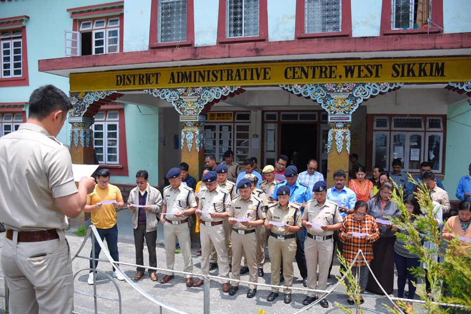 West Sikkim Observes Anti Terrorism Day