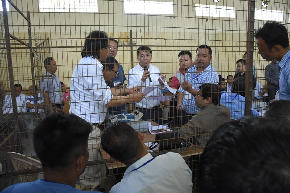 Dry Run (Mock Counting) for counting day held in West district