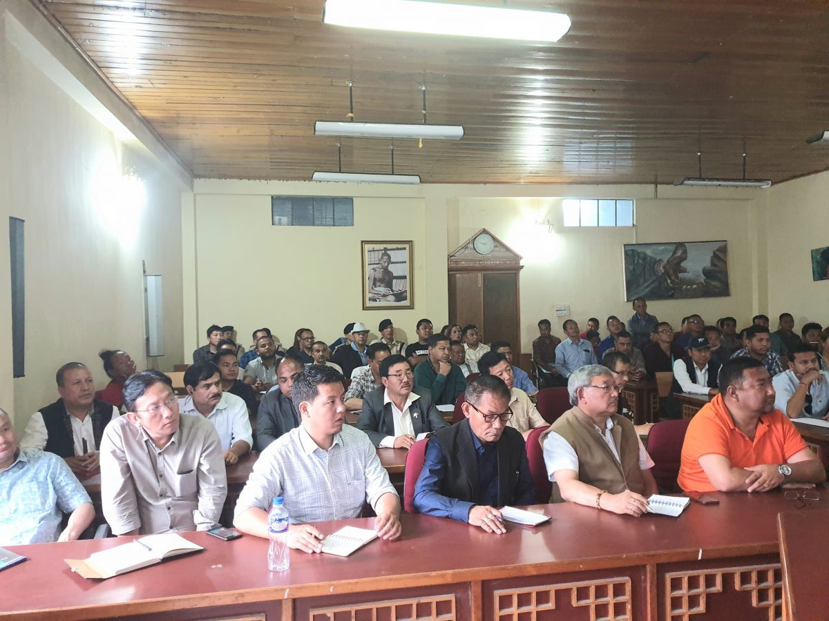 Final briefing for candidates and their election agents held in Gangtok