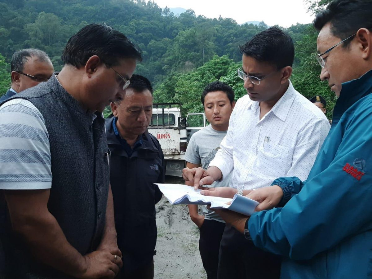 Each Friday, Field Day conducted at Upper Dzongu