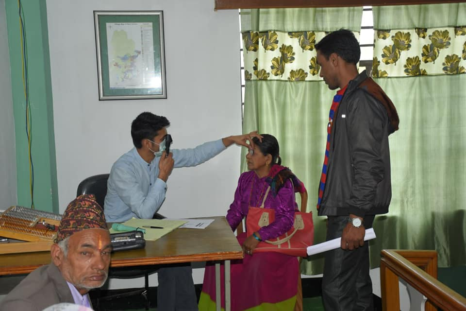 ALIMCO assessment camp for Senior Citizens and PWDs at BAC Gyalshing