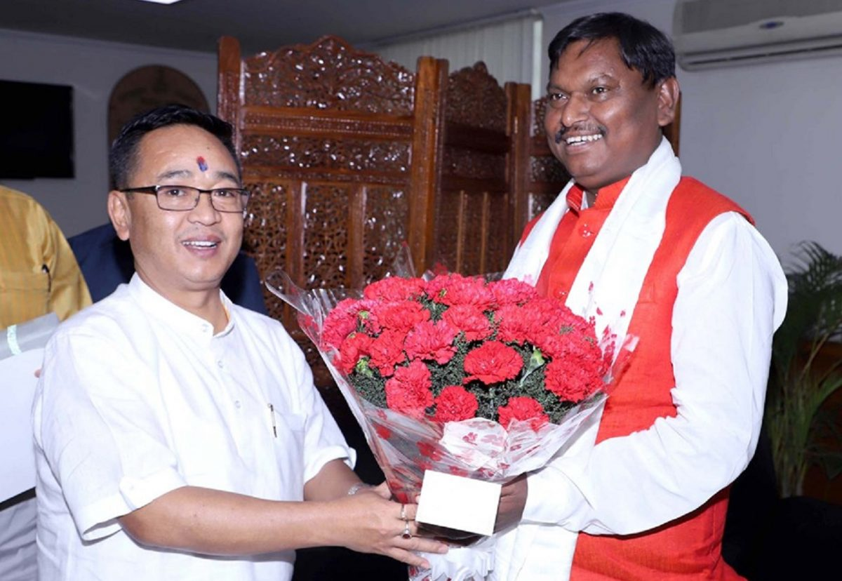 HON'BLE CHIEF MINISTER MEETS UNION MINISTER OF TRIBAL AFFAIRS
