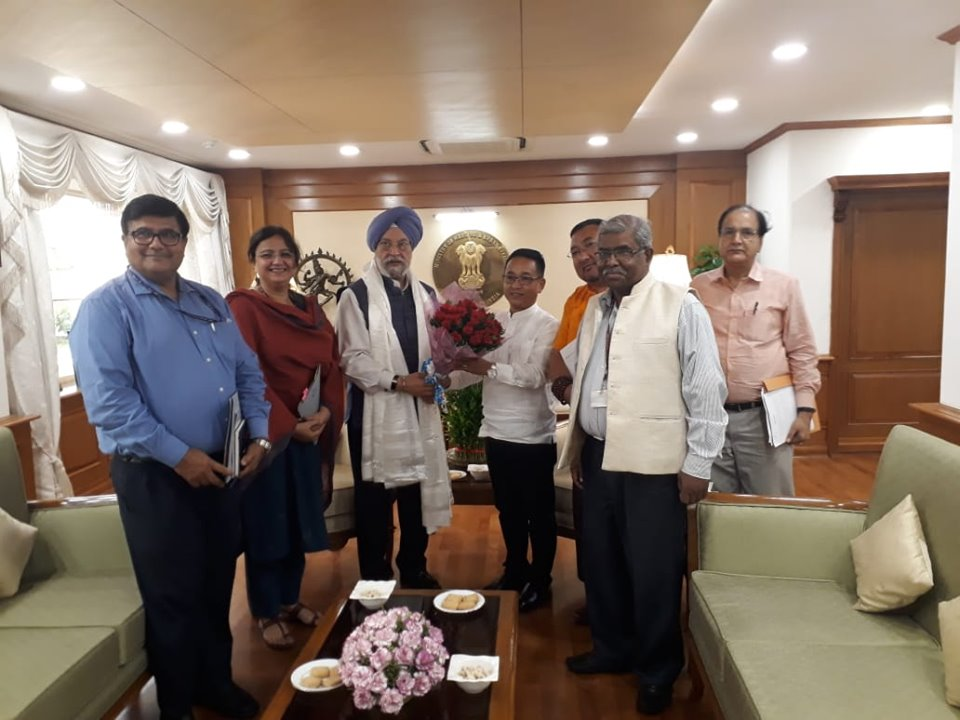 Hon'ble Chief Minister meets Hon'ble MoS (IC) of Civil Aviation
