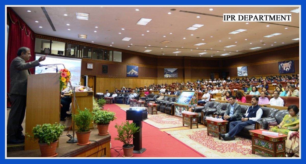 THE INTERNATIONAL DAY AGAINST DRUG ABUSE AND ILLICIT TRAFFICKING WAS OBSERVED AT CHINTAN BHAWAN ON 26.06.2019