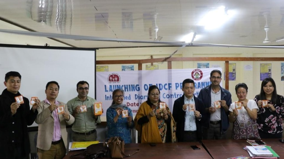 LAUNCHING OF IDCF PROGRAMME INTENSIFIED DIARRHEA CONTROL FORTNIGHT PROGRAMME UNDER NATIONAL HEALTH MISSION AT DAC MANGAN ON 30.05.2019