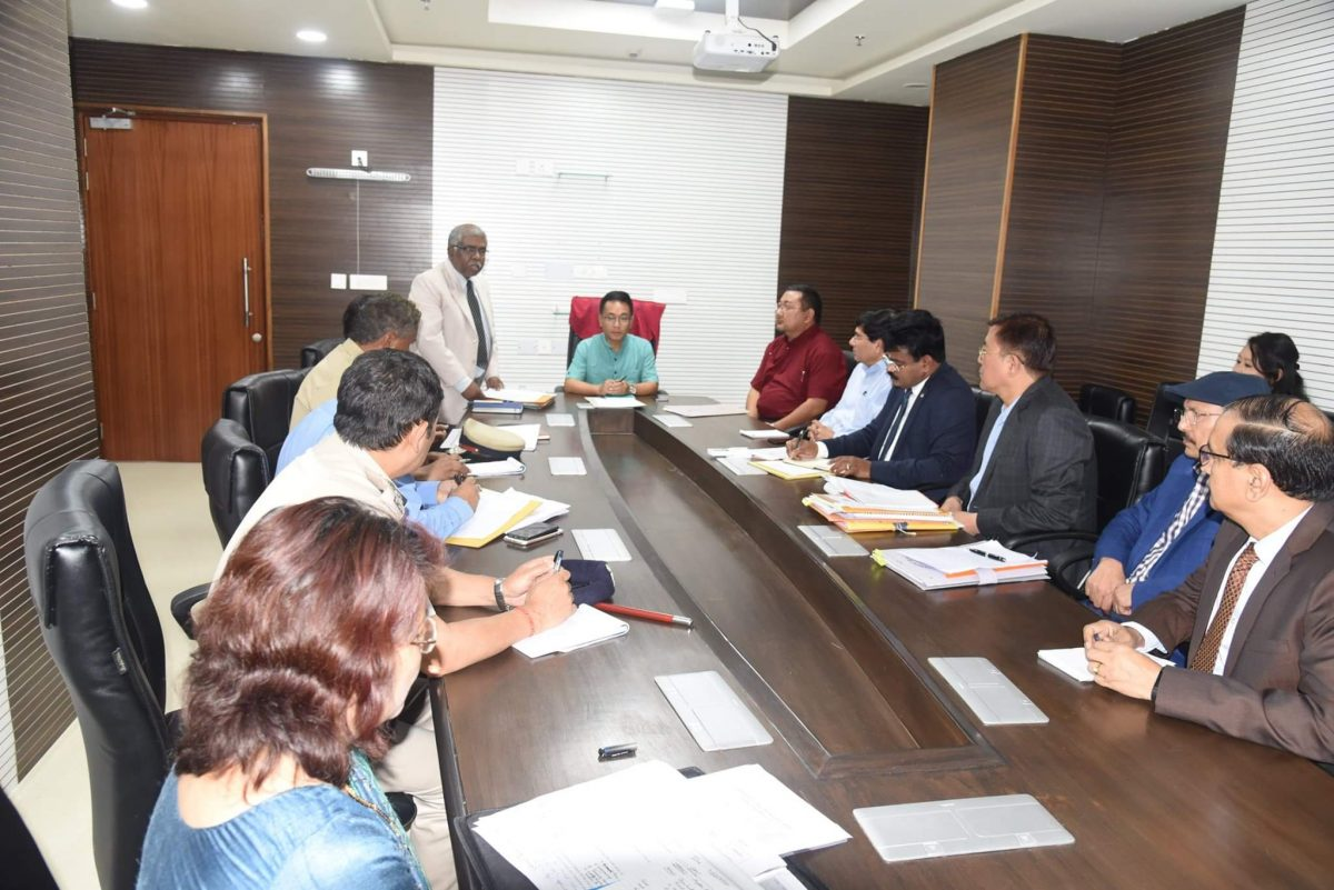Co-ord meet regarding traffic situation in the State conducted in the presence of Hon'ble CM