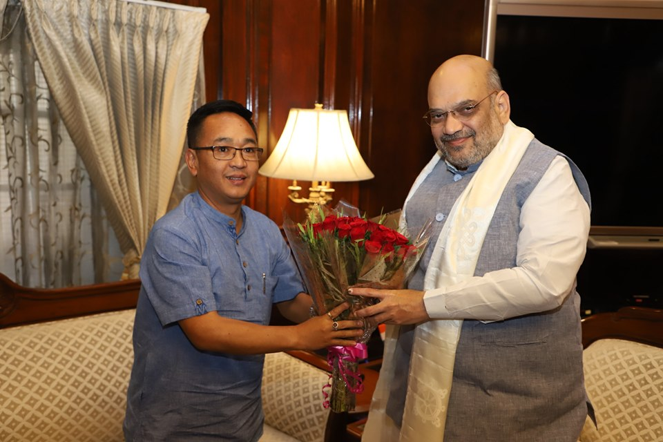Hon'ble Chief Minister meets Union Home Minister