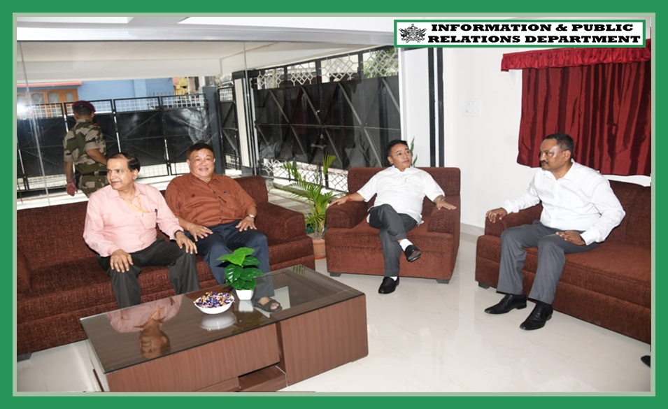 HCM VISITS DENZONG AGRI COOPERATIVE SOCIETY GUEST HOUSE ON 07.08.2019
