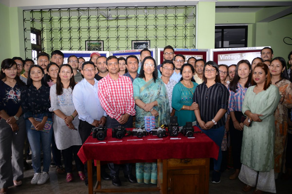 IPR Department observes World Photography Day