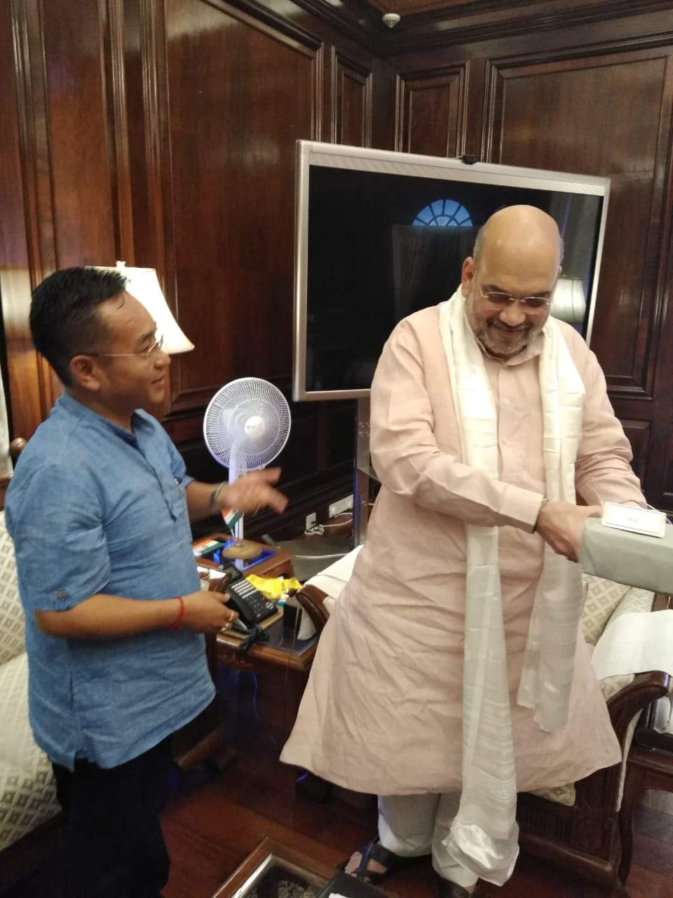 HCM meets Hon'ble Union Minister of Home Affairs in New Delhi