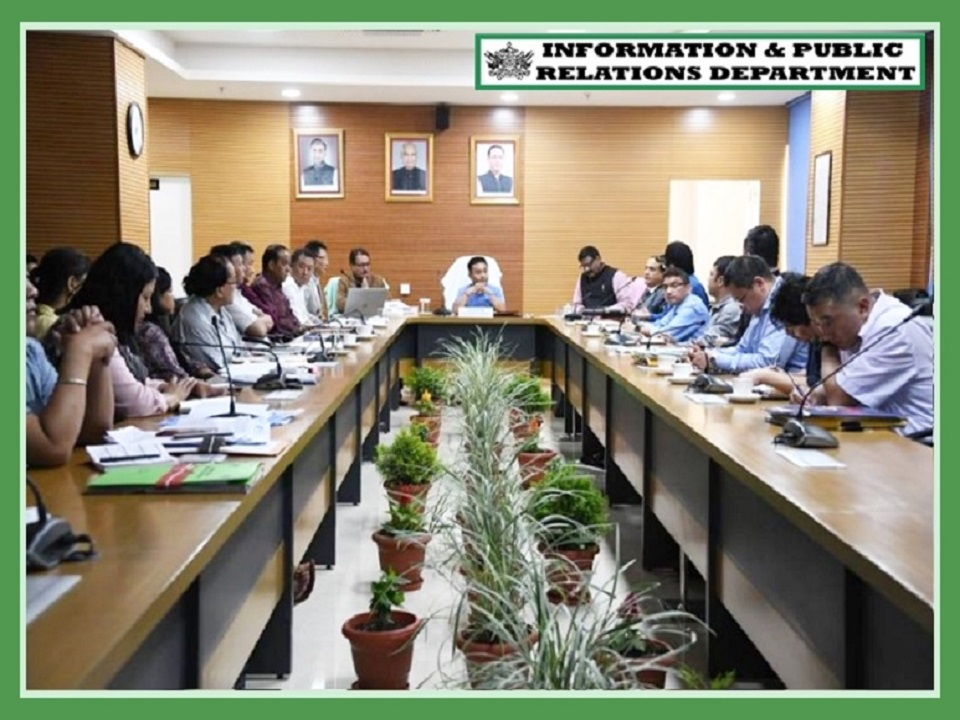 HCM MEETING WITH DEPARTMENT OF TOURISM AND CIVIL AVIATION ON 29.08.2019