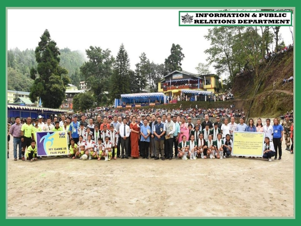 INDEPENDENCE DAY CELEBRATION COMMITTEE SORENG HAD THE GRACIOUS PRESENCE OF HON'BLE CM SHRI P S TAMANG (GOLAY) AS THE CHIEF GUEST ON 13.08.2019