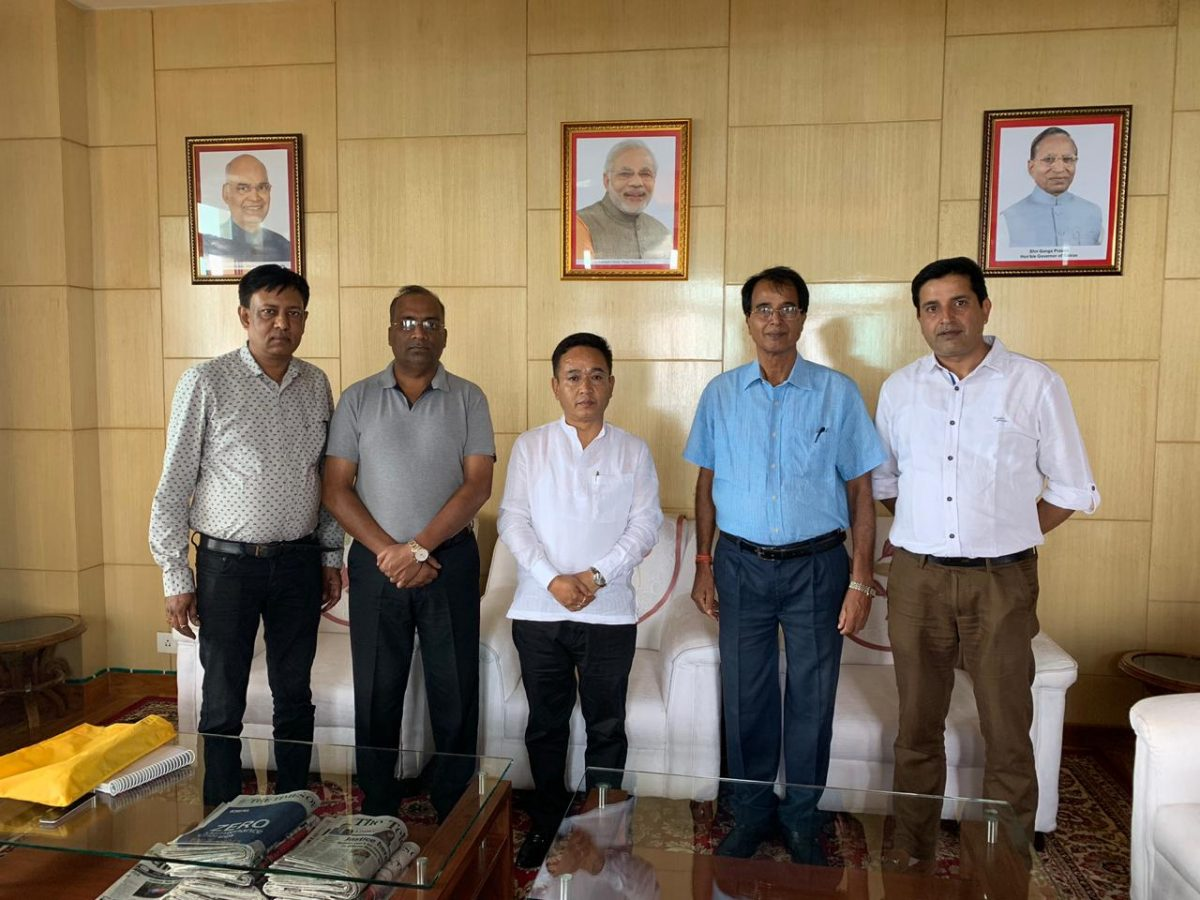 Association of Old Settlers of Sikkim delegate meet HCM