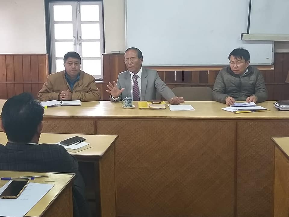 Meeting regarding the Implementation of Solid Waste Management held at Rabdentse