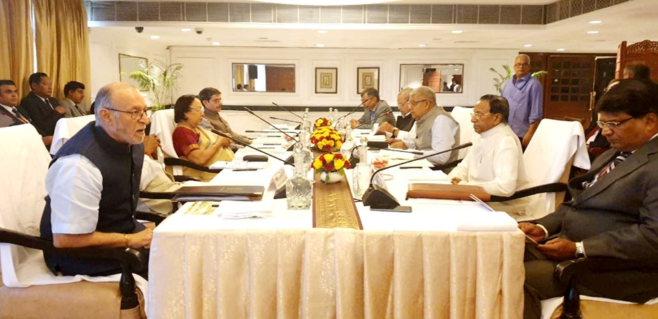 Hon'ble Governor attended 50th Governor's Conference Sub-Group Consultative Meeting at New Delhi