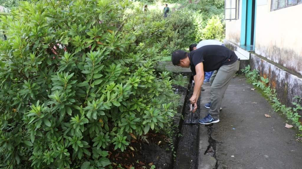 Cleanliness drive to be conducted every Friday at DAC Mangan premises