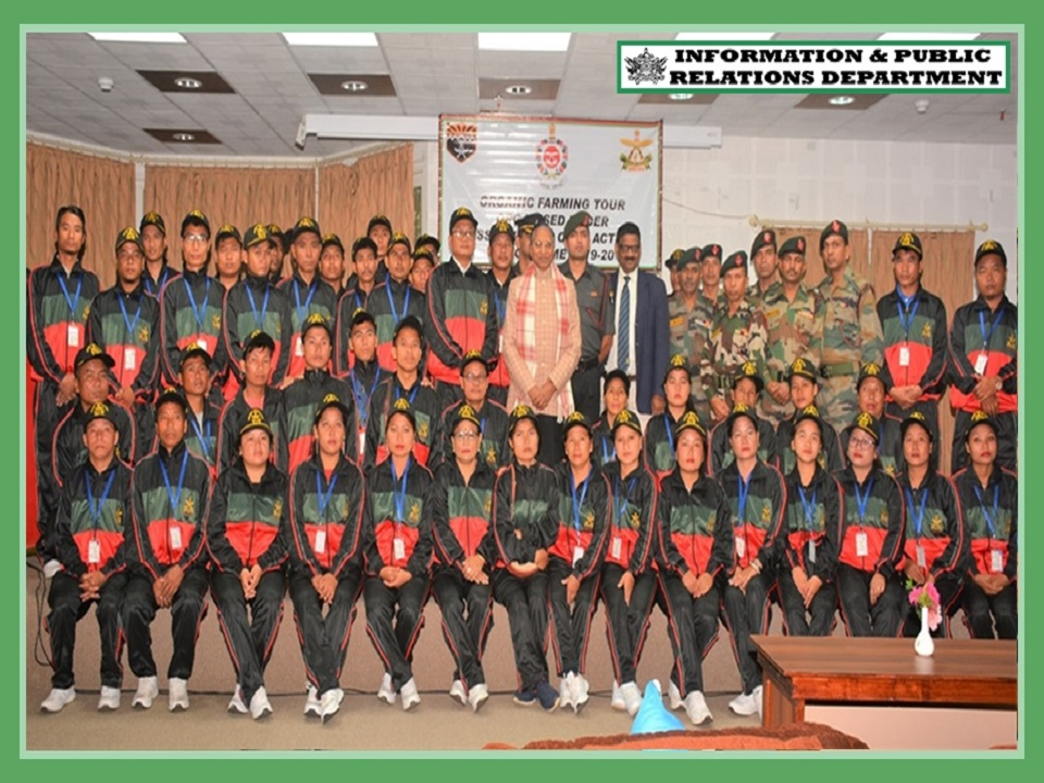 HON'BLE GOVERNOR GRANTED AUDIENCE TO A GROUP OF 50 FARMERS OF NE STATES & OFFICERS OF ASSAM RIFLES ON 01.10.2019